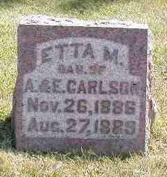 CARLSON, ETTA M. - Boone County, Iowa | ETTA M. CARLSON