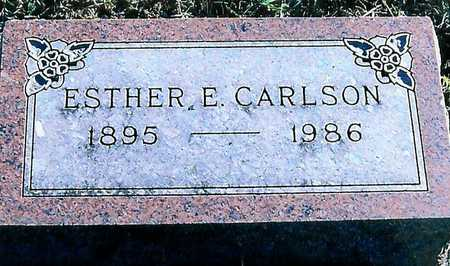 CARLSON, ESTHER E. - Boone County, Iowa | ESTHER E. CARLSON