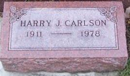 CARLSON, HARRY J. - Boone County, Iowa | HARRY J. CARLSON