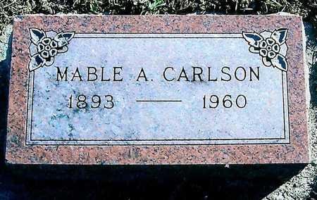 CARLSON, MABLE A. - Boone County, Iowa | MABLE A. CARLSON