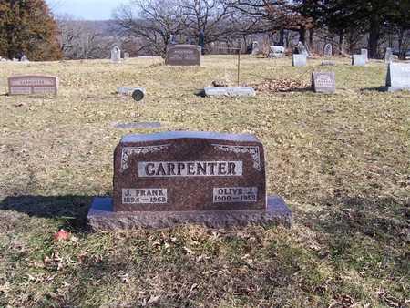 CARPENTER, J. FRANK - Boone County, Iowa | J. FRANK CARPENTER
