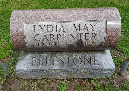 CARPENTER, LYDIA MAY - Boone County, Iowa   LYDIA MAY CARPENTER