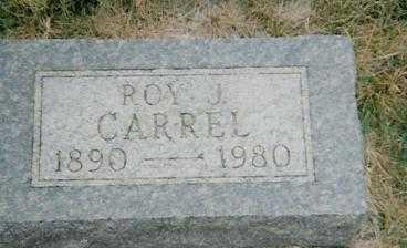 CARREL, ROY J. - Boone County, Iowa | ROY J. CARREL