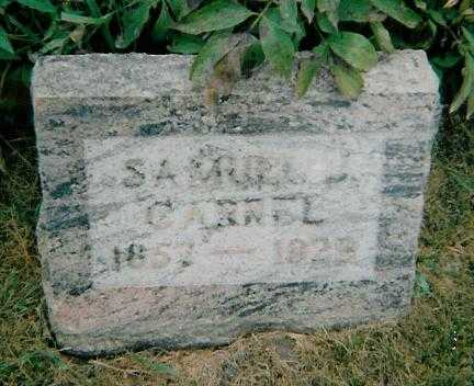CARREL, SAMUEL J. - Boone County, Iowa | SAMUEL J. CARREL