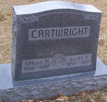 CARTWRIGHT, ELIAS J. - Boone County, Iowa | ELIAS J. CARTWRIGHT