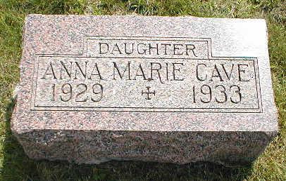 CAVE, ANNA MARIE - Boone County, Iowa | ANNA MARIE CAVE