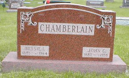 CHAMBERLAIN, JOHN C. - Boone County, Iowa | JOHN C. CHAMBERLAIN
