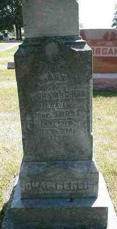 CHAMBERLIN, MARY - Boone County, Iowa | MARY CHAMBERLIN