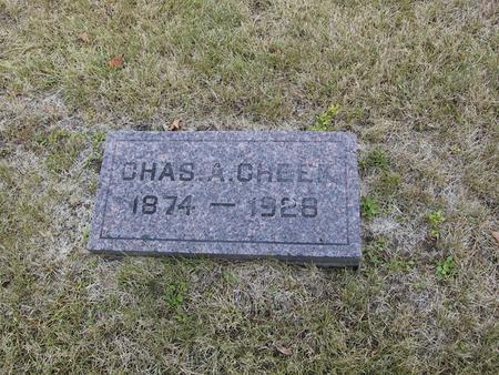 CHEEK, CHARLES A. - Boone County, Iowa | CHARLES A. CHEEK
