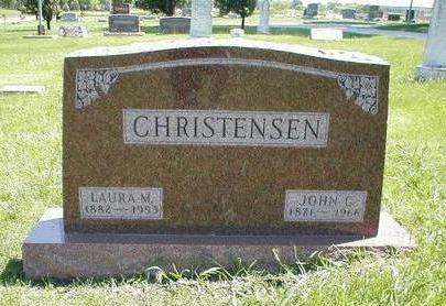 CHRISTENSEN, JOHN C. - Boone County, Iowa | JOHN C. CHRISTENSEN