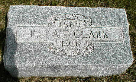 CLARK, ELLA T. - Boone County, Iowa | ELLA T. CLARK