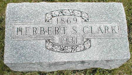 CLARK, HERBERT S. - Boone County, Iowa | HERBERT S. CLARK