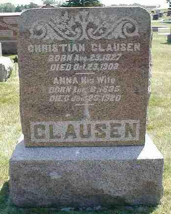 CLAUSEN, ANNA - Boone County, Iowa | ANNA CLAUSEN