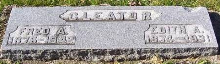 CLEATOR, FRED A. - Boone County, Iowa | FRED A. CLEATOR