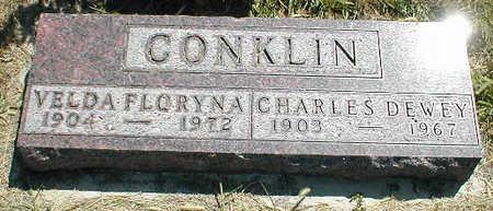 CONKLIN, CHARLES DEWEY - Boone County, Iowa | CHARLES DEWEY CONKLIN
