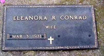 CONRAD, ELEANORA R. - Boone County, Iowa | ELEANORA R. CONRAD