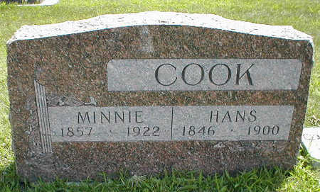 COOK, HANS - Boone County, Iowa | HANS COOK