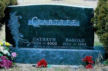 CRABTREE, HAROLD - Boone County, Iowa | HAROLD CRABTREE