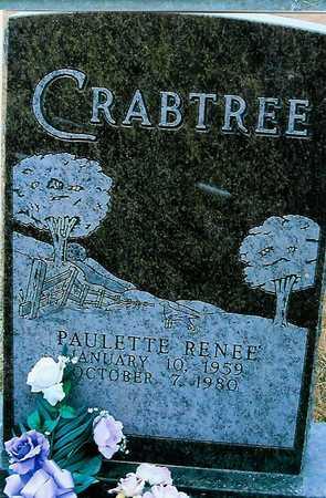 CRABTREE, PAULETTE RENEE - Boone County, Iowa | PAULETTE RENEE CRABTREE