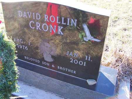 CRONK, DAVID ROLLIN - Boone County, Iowa   DAVID ROLLIN CRONK