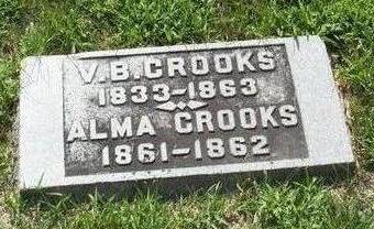 CROOKS, ALMA - Boone County, Iowa | ALMA CROOKS