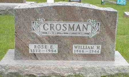 CROSMAN, WILLIAM H. - Boone County, Iowa | WILLIAM H. CROSMAN