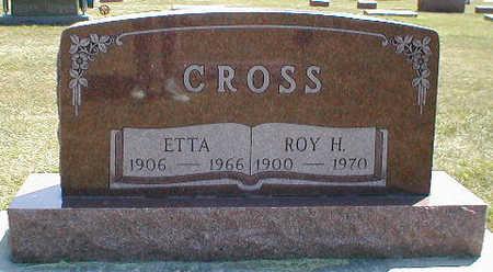 CROSS, ETTA - Boone County, Iowa | ETTA CROSS
