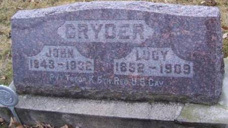 CRYDER, LUCY - Boone County, Iowa | LUCY CRYDER