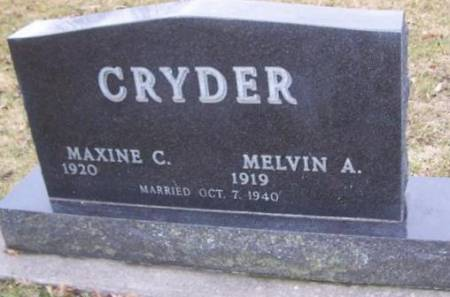 CRYDER, MAXINE C. - Boone County, Iowa | MAXINE C. CRYDER