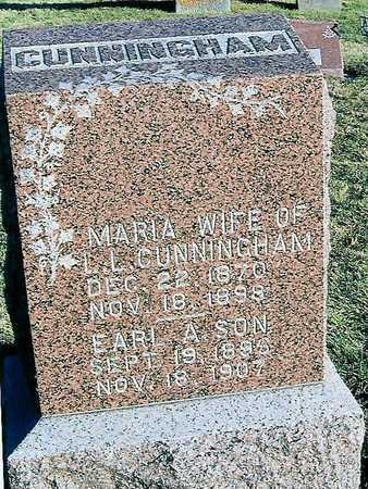 CUNNINGHAM, MARIA - Boone County, Iowa | MARIA CUNNINGHAM
