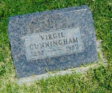CUNNINGHAM, VIRGIL - Boone County, Iowa | VIRGIL CUNNINGHAM