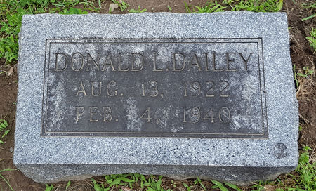 DAILEY, DONALD L. - Boone County, Iowa   DONALD L. DAILEY