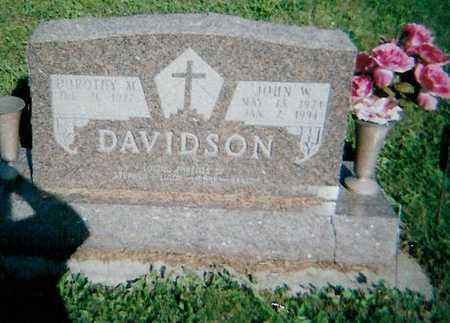 DAVIDSON, JOHN W - Boone County, Iowa | JOHN W DAVIDSON