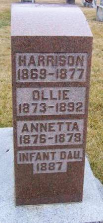 DAVIS, INFANT DAUGHTER - Boone County, Iowa | INFANT DAUGHTER DAVIS