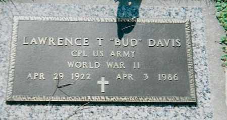 DAVIS, LAWRENCE (BUD) - Boone County, Iowa | LAWRENCE (BUD) DAVIS