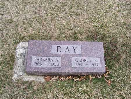 DAY, GEORGE E. - Boone County, Iowa | GEORGE E. DAY