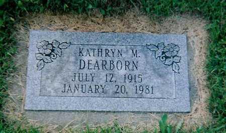 DEARBORN, KATHRYN - Boone County, Iowa   KATHRYN DEARBORN