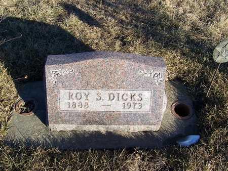 DICKS, ROY S. - Boone County, Iowa | ROY S. DICKS