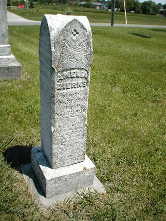DIERKS, AMELIA - Boone County, Iowa   AMELIA DIERKS