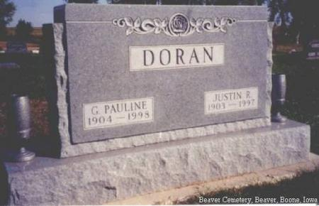 DORAN, G. PAULINE AND JUSTIN R. - Boone County, Iowa | G. PAULINE AND JUSTIN R. DORAN