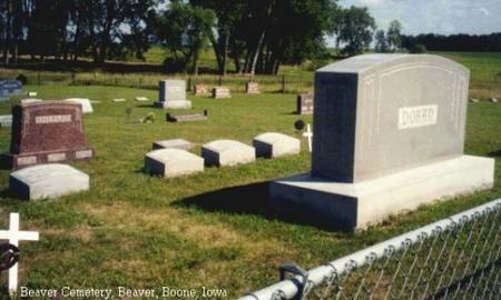 DORAN, HEADSTONE - Boone County, Iowa   HEADSTONE DORAN
