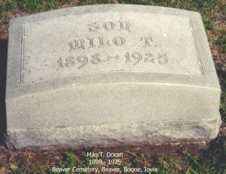 DORAN, MILO T. - Boone County, Iowa | MILO T. DORAN