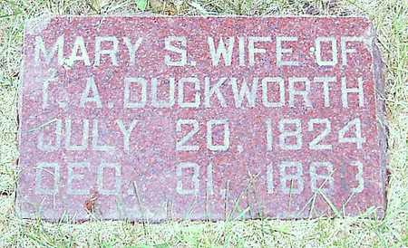 DUCKWORTH, MARY S. - Boone County, Iowa | MARY S. DUCKWORTH