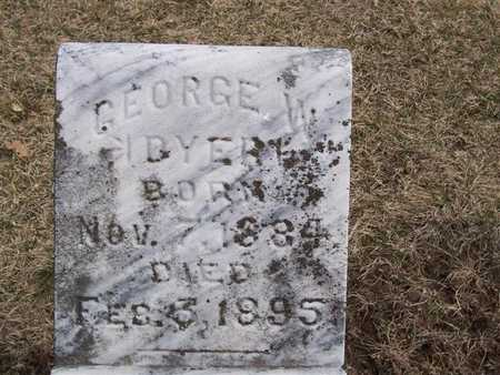 DYER, GEORGE W. - Boone County, Iowa | GEORGE W. DYER