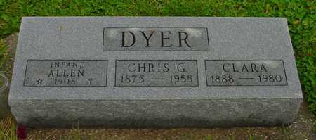 DYER, INFANT ALLAN - Boone County, Iowa | INFANT ALLAN DYER