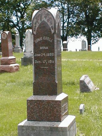 EARLL, ANNIE - Boone County, Iowa | ANNIE EARLL