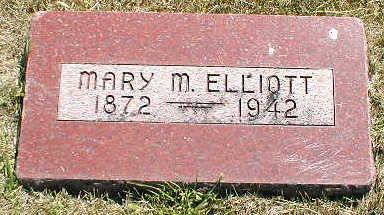 ELLIOTT, MARY M. - Boone County, Iowa | MARY M. ELLIOTT
