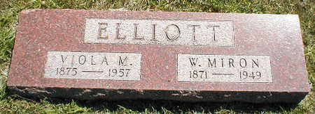 ELLIOTT, W. MIRON - Boone County, Iowa | W. MIRON ELLIOTT