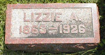 ENFIELD, LIZZIE A. - Boone County, Iowa | LIZZIE A. ENFIELD