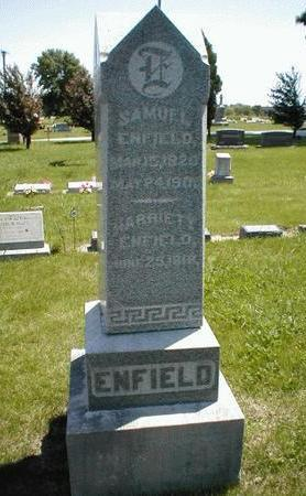 ENFIELD, HARRIETT - Boone County, Iowa | HARRIETT ENFIELD
